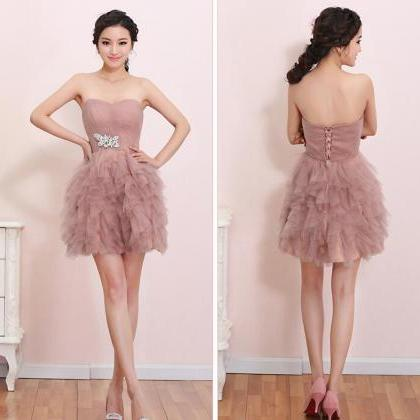 Fashion Tulle Party Dress Sweethear..