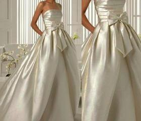 Wd182 Satin Wedding ..