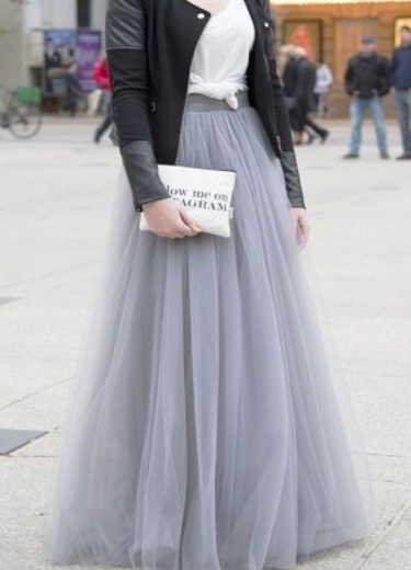 Pd81204 New Arrival Skirt, Street Style Skirt,Tulle Skirt,Fashion Women Skirt,Spring Autumn Skirt ,A-Line Skirt