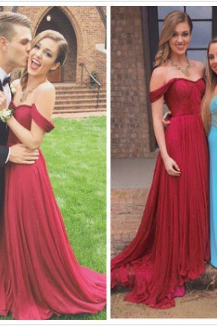 Pd10194 High Quality Prom Dress,Chiffon Prom Dress,A-Line Prom Dress,Pleat Prom Dress,Sweetheart Prom Dress