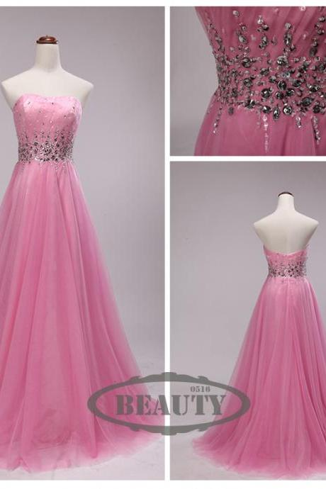 Pd160308 Charming Prom Dress,Sweetheart Prom Dress,A-Line Prom Dress,Tulle Prom Dress,A-Line Evening Dress