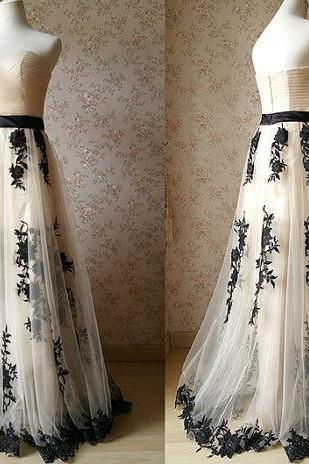 Pd61201 Charming Prom Dress,Tulle Prom Dress,Appliques Prom Dress,Sweetheart Evening Dress