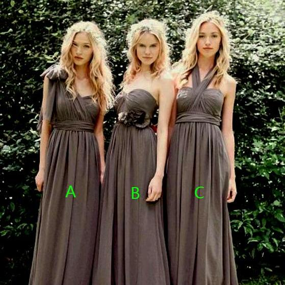Bd222 A-Line Bridesmaid Dress,Chiffon Bridesmaid Dress,Long Bridesmaid Dress,Custom Bridesmaid Dress