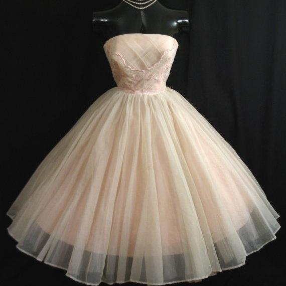 Pd207 Ball-Gown Prom Dress,Short Prom Dress,Strapless Prom Dress,Tulle Prom Dress